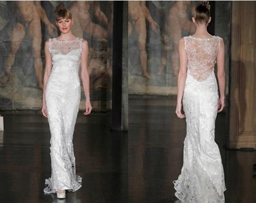 свадебное платье Присциллы Чан от Клер Петтитбоун