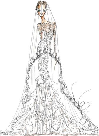 свадебное платье Анджелины Джоли от Theia