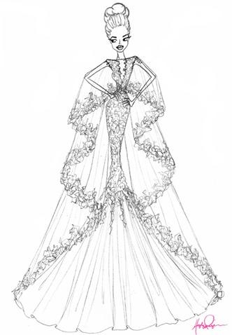 свадебное платье Анджелины Джоли от hayley paige