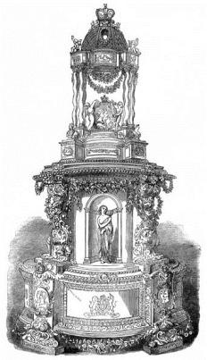 свадебный торт принцессы Виктории