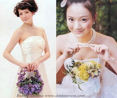свадебные сумочки из цветов