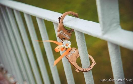 альтернатива свадебному замочку