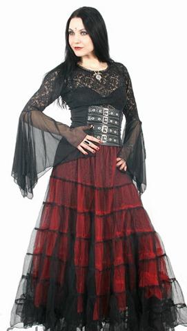 в готическом стиле - Свадебные платья