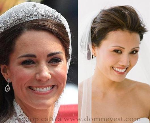 свадебный макияж в стиле Кейт Миддлтон