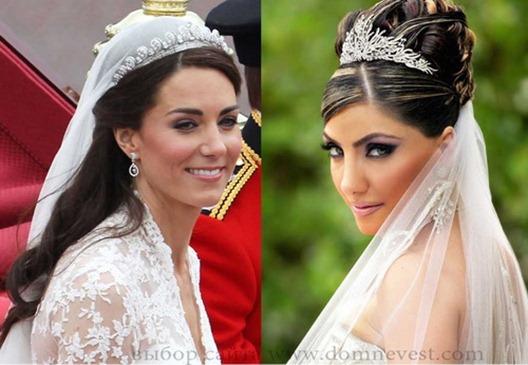 свадебный тренд тиара