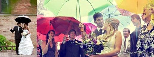 зонтики на свадьбе