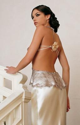 свадебное платье без спинки