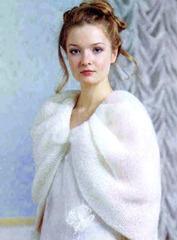 подвенечное платье вязаное