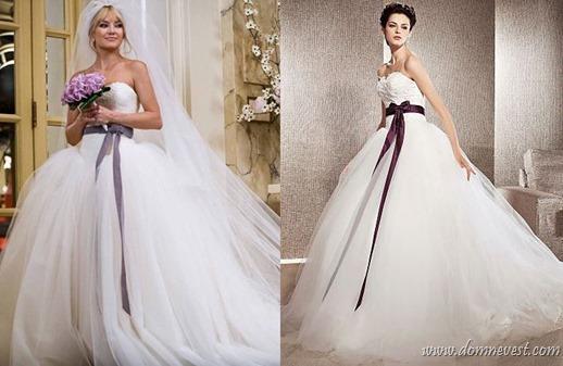 копия свадебного платья Война невест