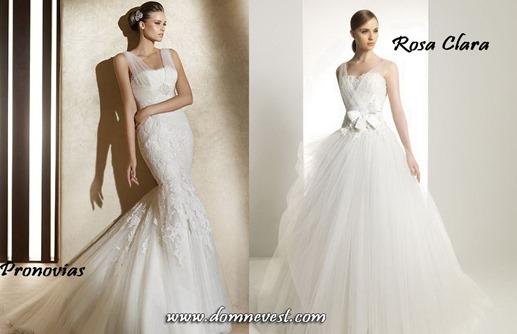 свадебные платья с прозрачными бретельками