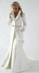 меховая свадебная сумочка