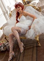 свадебные чулки купить