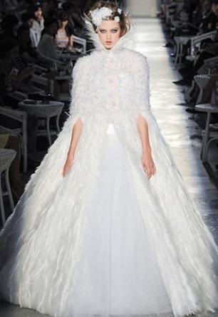 свадебное платье Chanel