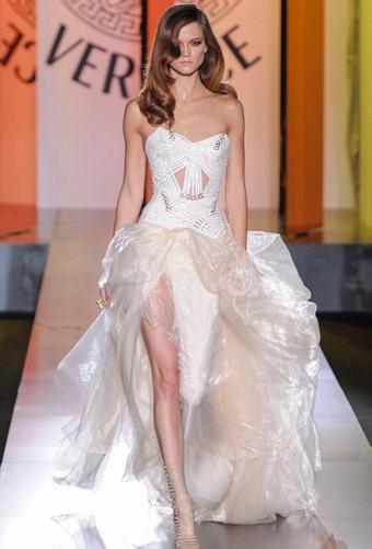 свадебное платье Versace