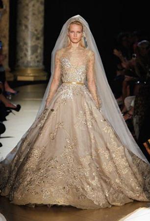 свадебное платье elie saab