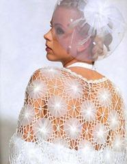 свадебная шаль