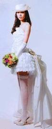 невеста в чулках