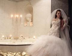 невеста в ванной