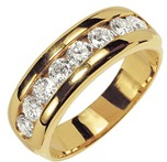 обручальное кольцо с бриллиантами от Adamence