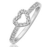 обручальное кольцо сердце от Adamence
