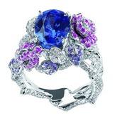 обручальное кольцо с розами от DIOR