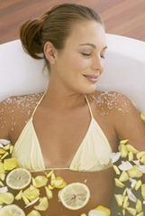 фруктовая ванна