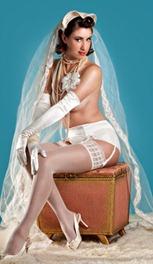 невеста в белье
