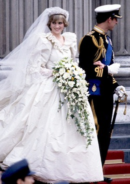 свадебный букет принцессы Дианы