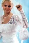 схемы вышивки крестиком салфеток.  Вязаное платье для девочки с болеро крючком. .  Ярлыки вязание спицами, Платья...
