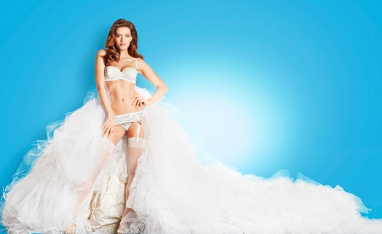 свадебное нижнее белье 2012