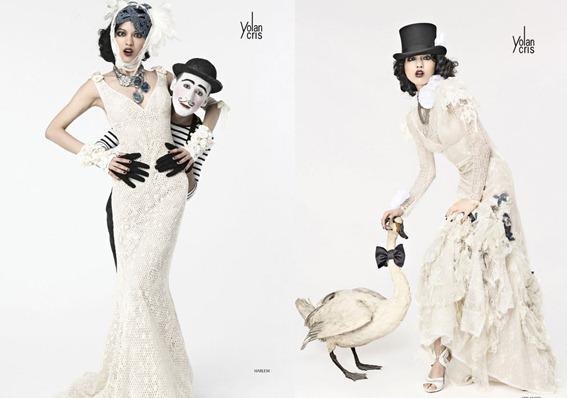 вязаные свадебные платья 2012