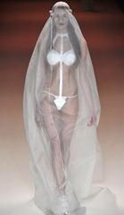самое откровенное свадебное платье