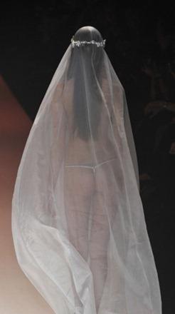 свадебное платье стринги