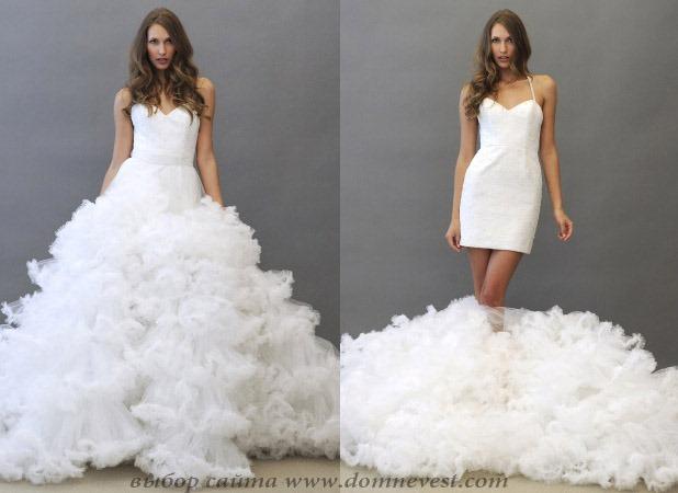 Красивые платья свадебное платье