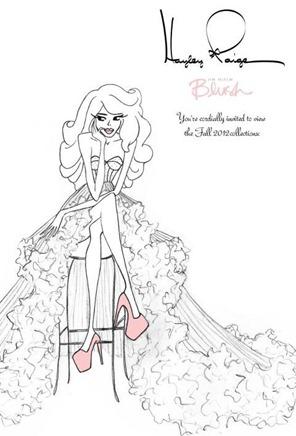 свадебное платье трансформер эскиз