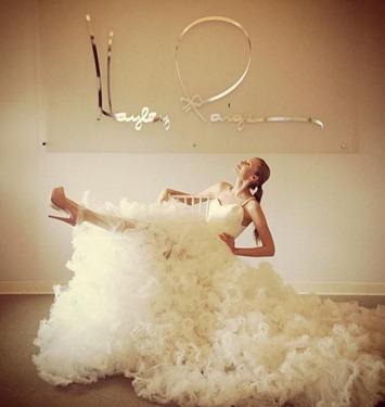 пышное свадебное платье трансформер