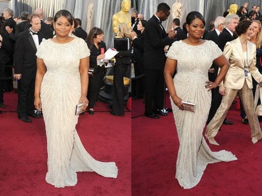 Октавия Спенсер на Оскаре 2012