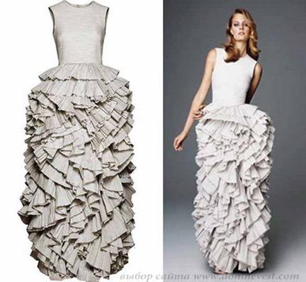 свадебное платье h&m