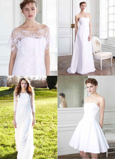 свадебные платья la redoute