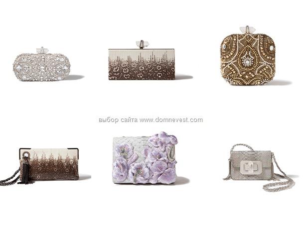 Коллекция свадебных сумочек 2012 года.