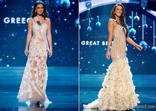 мисс вселенная 2012 свадебное