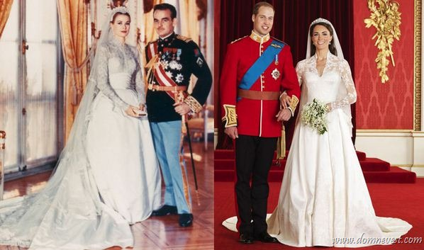 Свадебные платья в стиле грейс келли