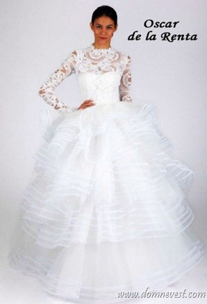 свадебное платье в стиле Грейс Келли 2013