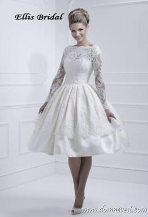 короткое свадебное платье 2013
