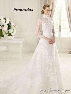 свадебное платье в стиле Грейс Келли Pronovias