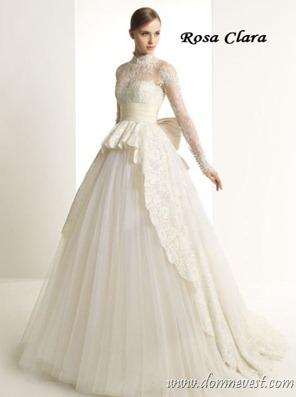 Свадебное платье в стиле Грейс Келли от Zuhair Murad