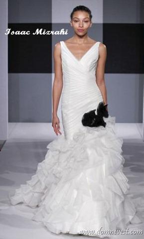 Свадебные платья ( красно - белая гамма