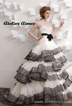 свадебное платье Atelier Aimee 2013