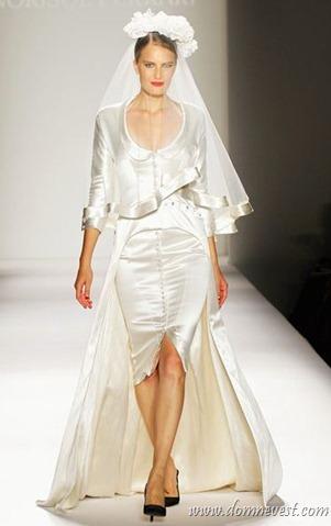Свадебное платье от Норисоль Феррари 2013