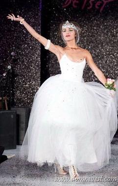 свадебное платье от Betsey Johnson 2013